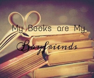 books, boyfriend, and love image