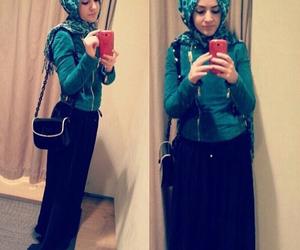 skirt, حجاب, and hijabi image