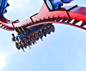 rollercoaster, fun, and Roller Coaster image