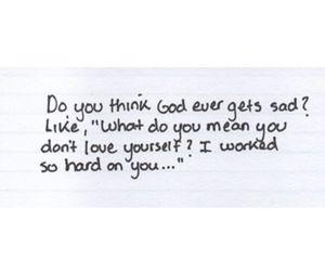 quotes, god, and sad image