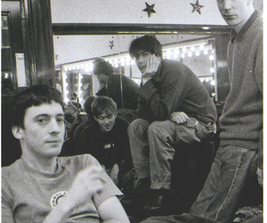 alex james, damon albarn, and graham coxon image