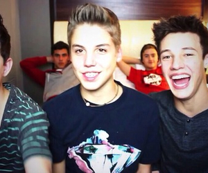 nash grier, cameron dallas, and matthew espinosa image