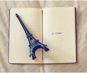 paris, je t'aime, and book image