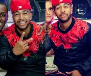 fine, red roses, and omarion image