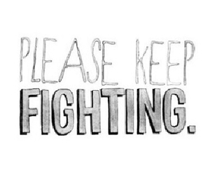 quote, fighting, and fight image