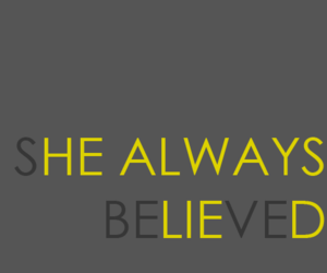 believe and lie image