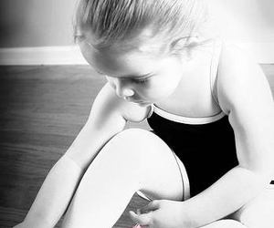 cute, ballet, and child image