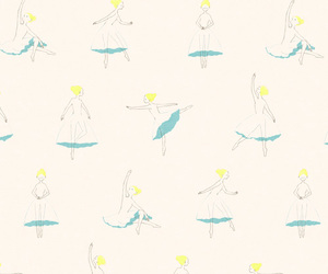 ballet, lady, and wallpaper image