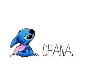 disney, stitch, and ohana image