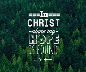 belive, Christ, and forest image