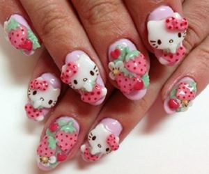 bow, hello kitty, and pastel image