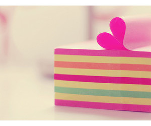 colorful, I Love You, and pink image