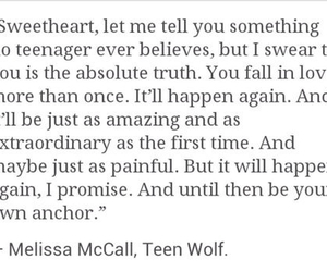 teen wolf, love, and quote image
