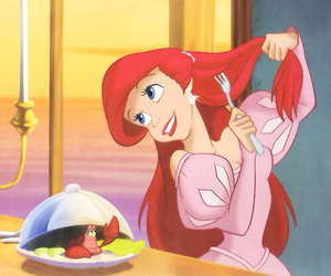 disney, ariel, and princess image