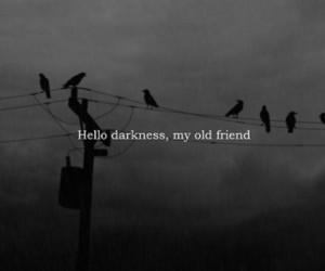 Darkness, dark, and friends image
