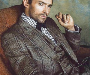 hugh jackman, sexy, and handsome image