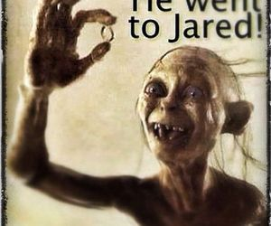 funny, jared, and lord of the rings image