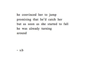 quotes, sad, and jump image
