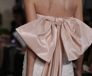 bow, Couture, and pink image