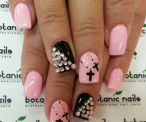girly, lovely, and nails image