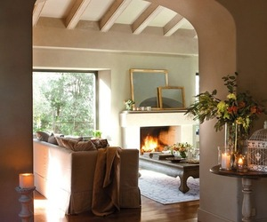 beautiful, beige, and cozy image