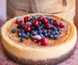 cake, cheesecake, and white chocolate image