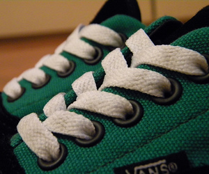 black, green, and shoes image