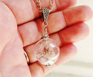 necklace, romantic, and wish image