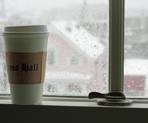 blizzard, coffee cup, and december 2010 image