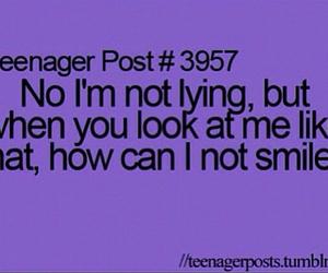smile, teenager post, and lying image