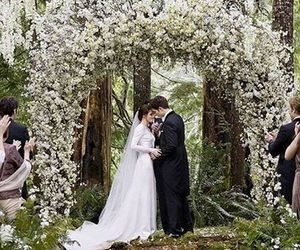 twilight, wedding, and breaking dawn image