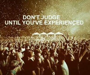 judge, party, and rave image