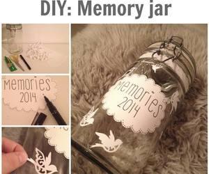 diy, memories, and memory jar image