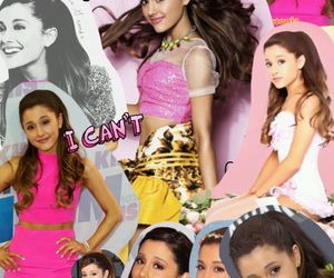 Collage and ariana image