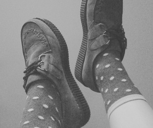 minimalism, socks, and vintage image