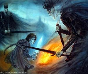 frodo, nazgul, and LOTR image