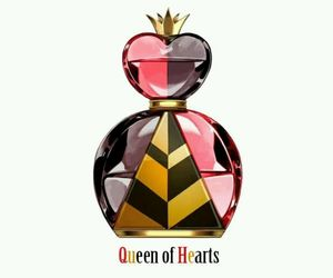 queen of hearts, perfume, and disney image