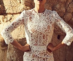 fashion, Doutzen Kroes, and model image