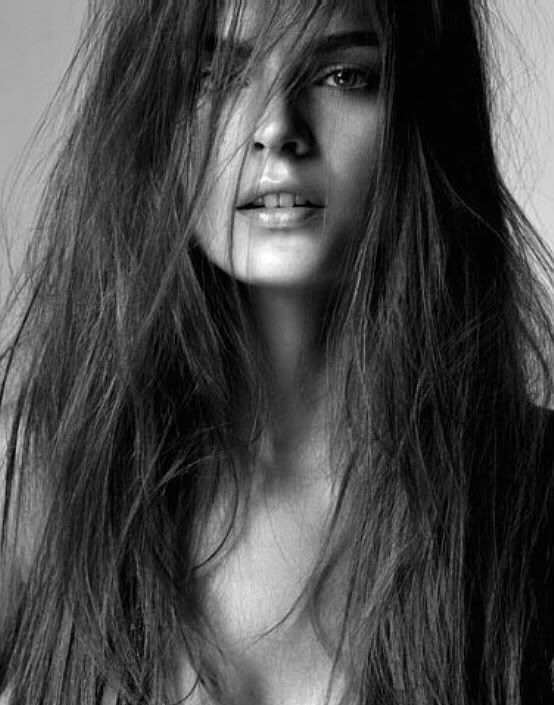 Black and white woman beauty on we heart it