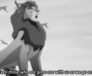 lion king, black and white, and disney image