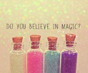 glitter, cute, and magic image