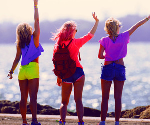 friends, spring breakers, and summer image