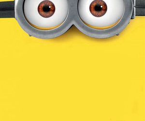glasses, goggles, and minions image