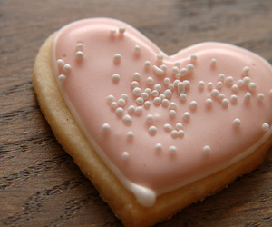 cookie, food, and heart image