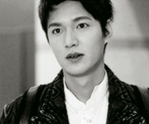 black and white, lee min ho, and Hot image