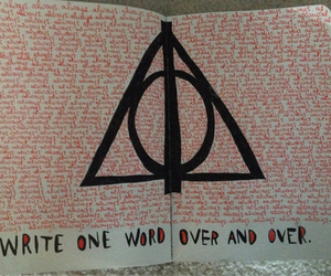 harry potter, wreck this journal, and always image