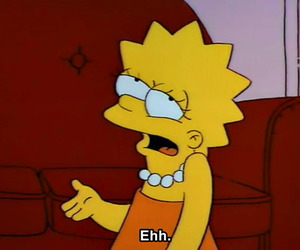 lisa, simpsons, and the simpsons image