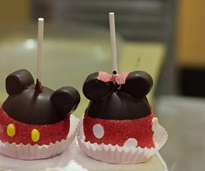 mickey, disney, and food image