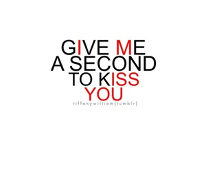 kiss, quote, and quotes image