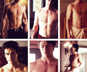 abs, ian somerhalder, and sexy image